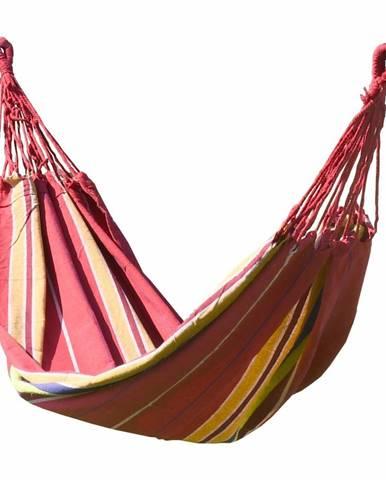 Cattara Hojdacie závesné lehátko Textil červená, 200 x 100 cm