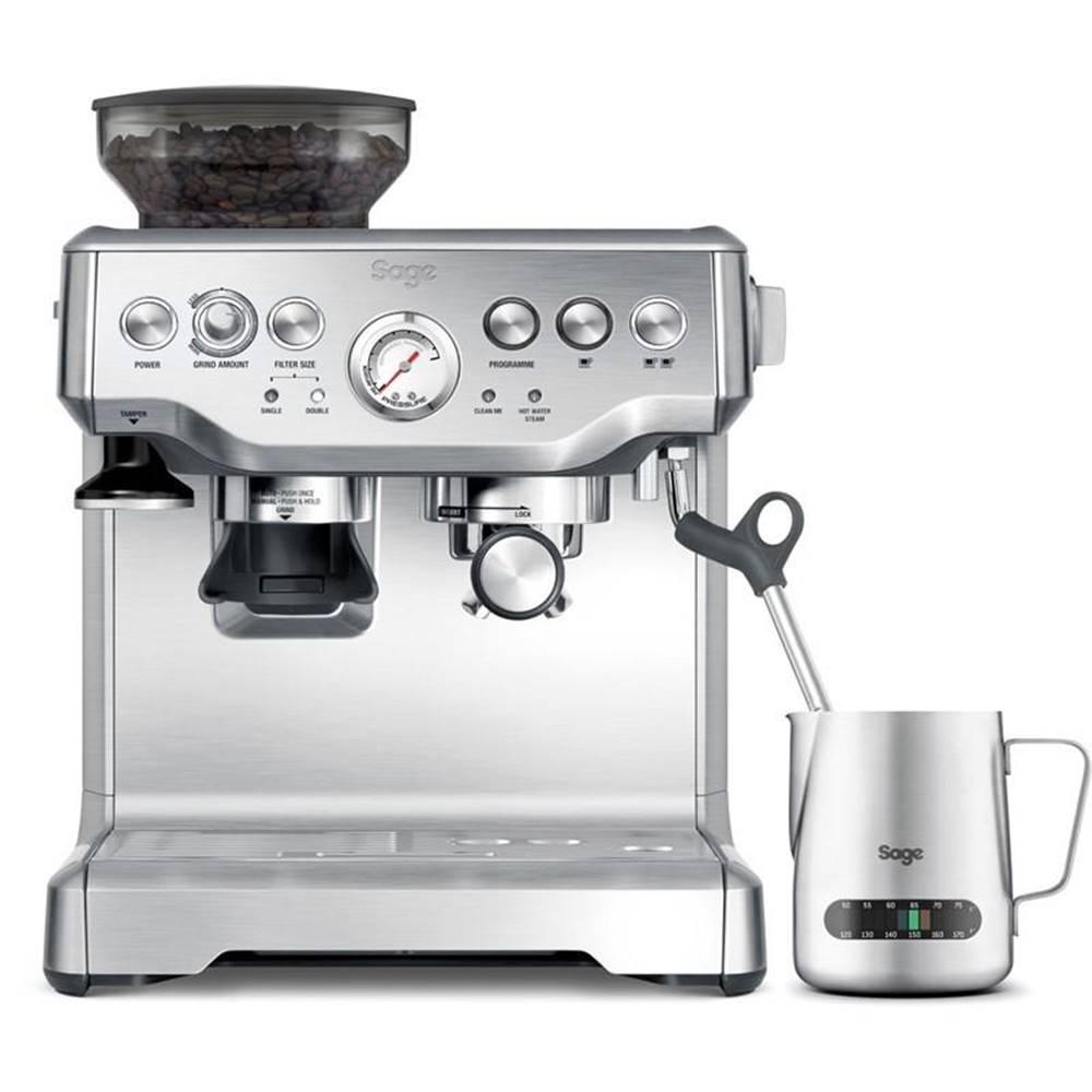 SAGE Espresso Sage Bes875bss strieborn