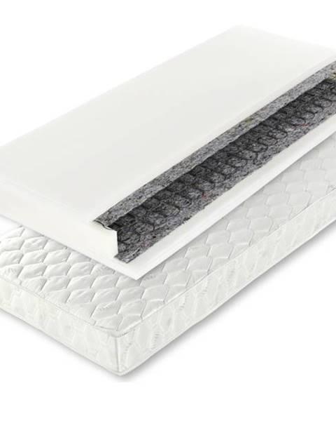 Biela posteľ Sconto